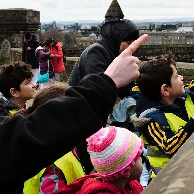 Itineraries | Military March | Edinburgh Castle
