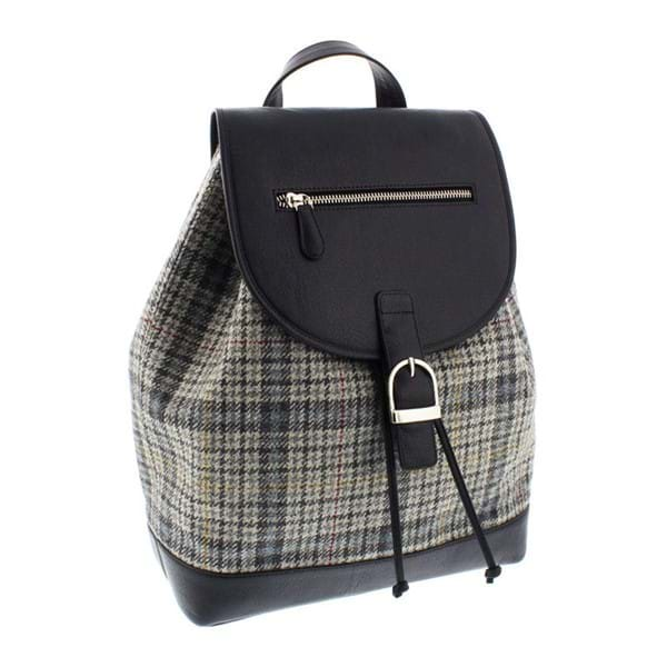 Edinburgh Castle exclusively designed tweed backpack